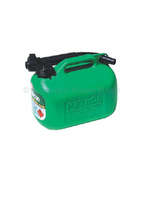 5lt Plastic Gerry Can Green - 26966