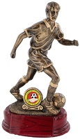 23cm Soccer Figure (M) & 25mm Recess