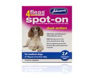 Johnson's 4-Fleas Medium Dog Spot-On Drops x 1