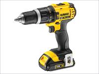 Dewalt Compact Hammer Drill Driver 18 Volt 2 x 1.5Ah Li-Ion
