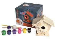 Birdhouse to Paint. (Priced in singles, order in multiples of 2)