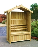WORCESTER ARBOUR WITH STORAGE BOX