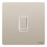Schneider Ultimate Screwless 1 Gang Switch|LV0701.0903