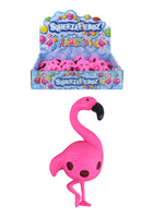 Squeeze Flamingo With Beads.