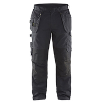 Blaklader 1496 Ripstop Work Trousers Black