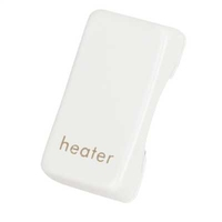 Schneider Ultimate Grid Heater rocker cap Painted White|LV0701.1326
