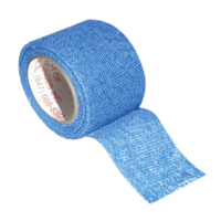 First Aid - Finger Protection Tape, Woven, 25mm X 27m, Blue