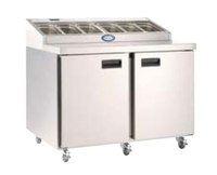 Foster Prep Station FPS2HR SS ext/Alu Int 1138x850x1059mm