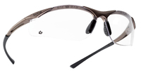 Bolle Contour Clear Anti-scratch, Anti-fog, Platinum glasses