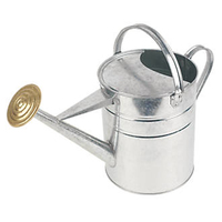 GALVANISED WATERING CAN 9 LTR