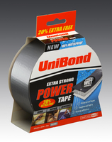 UNIBOND SILVER POWER TAPE 25 MTR + 25%