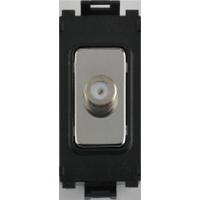 Flatplate Grid Mirror Steel Data Point Module LV0701.1345