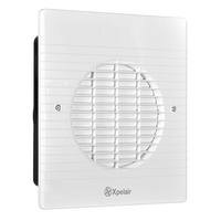 """Xpelair 6"""" 150mm Wall Fan c/w Wall Liner and Timer"""