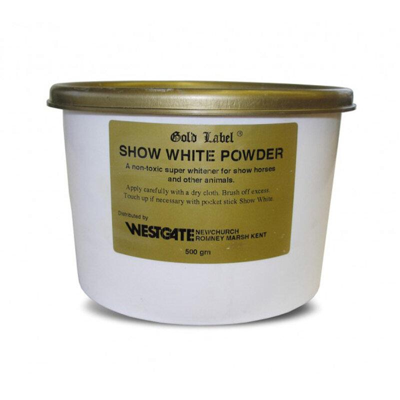 Gold Label Show White Powder 500g