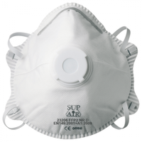 Standard valved Cup-shaped P2 mask (10 per pack)