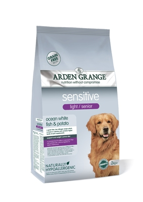 Arden Grange Light Senior Dog Sensitive 2kg
