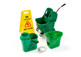 Cleaning equipment and mopping