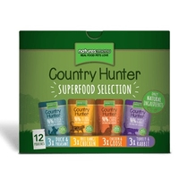 Natures Menu Country Hunter Cat Pouch Multipack 85g 12-Pk x 3