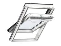 Velux White Painted Centre Pivot Roof Window - 66X118CM