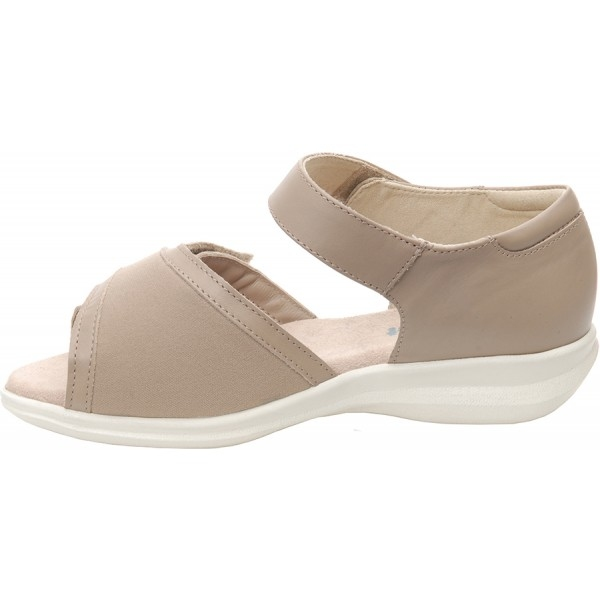 Cosyfeet Taupe Ladies Sandal Hop Homecare Medical Supplies