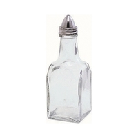 Vinegar Bottle Glass Stainless Steel Top 50x145mm
