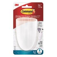Command Bathroom Toothbrush/Razor Holder BATH16-ES