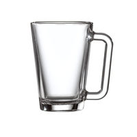 Los Angeles Glass Coffee Mug 27.5cl 9.5oz Carton of 12