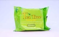 TEA TREE CLEANSING WIPES X25 (PK 1)