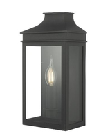 Vapour Couch Lantern Wall IP44, Light Black | LV1802.0171