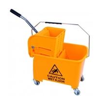 KING Speedy Flat Mop Bucket/Wringer System