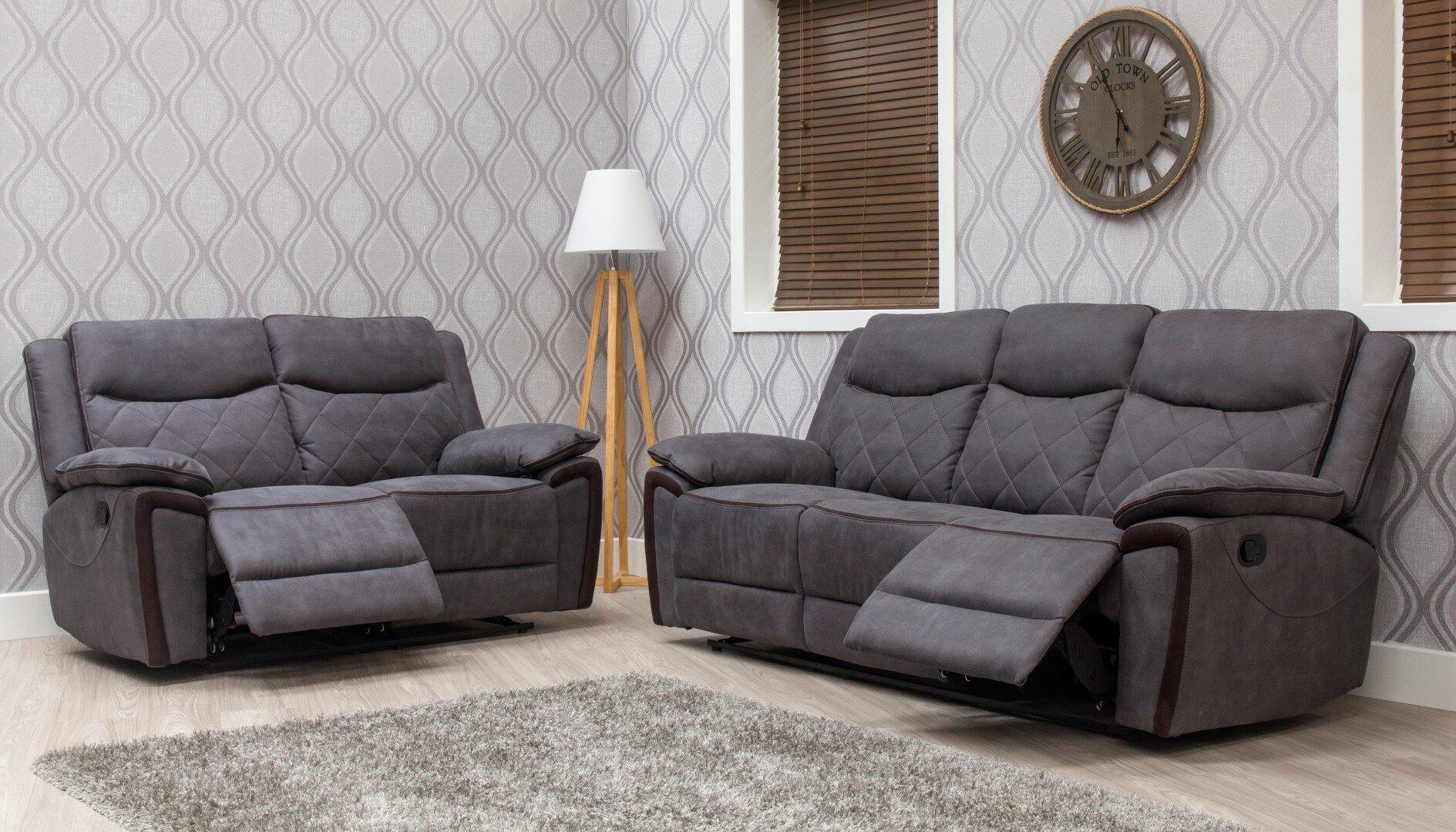 Lynx Grey Sofa 3