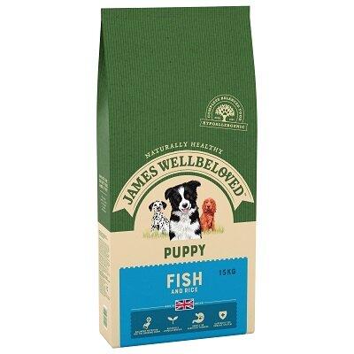 James Wellbeloved Fish & Rice Puppy Food 15kg