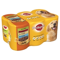 Pedigree Cans Adult Meaty Meals 400g x 6pk x 4