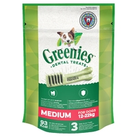 Greenies Original Dental Treats - Regular 85g x 1