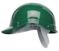 GREEN Elite Scott Protector Safety Helmet