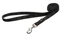 Rogz Alpinist Black Medium (Matterhorn) Fixed Lead 1.4m x 1