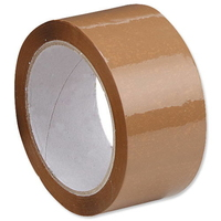 PK371.BU.A 48X66M BROWN PARCEL TAPE