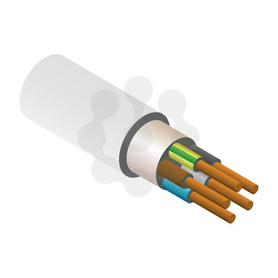 5x10.0mm NYM-J Cable