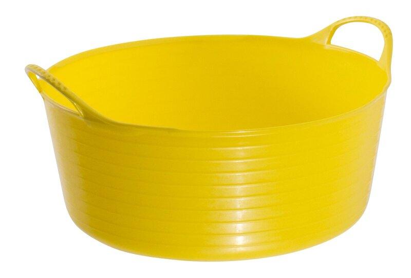 Red Gorilla Tub Mini Shallow Yellow 5L