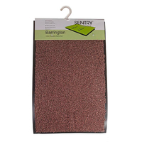 Sentry Barrington Cotton Washable Mat 40x60cm Dark Brown
