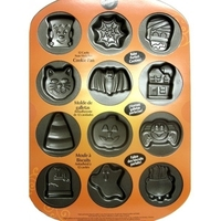 12 CAVITY PAN HALLOWEEN COOKIE