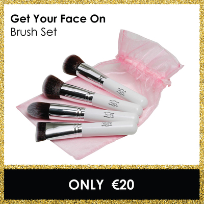 Get Your Face On Brush Set