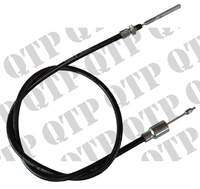 Brake Cable 1100mm Threaded