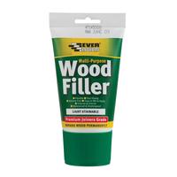 Multi Purpose Wood Filler, 100ml Tube, Light Stainable