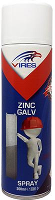 Vires Zinc Galv Spray 500ml