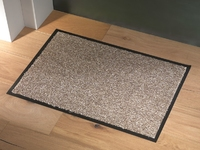 Sentry Barrington Cotton Washable Mat 60x90cm Beige