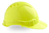 Pro Hard Hat 6 Vents Pushlock Harness