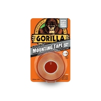 Gorilla Heavy Duty Mounting Tape 25mm x 1.5m