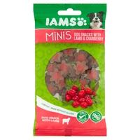 Iams Minis Dog Treats - Lamb & Cranberry 100g x 16
