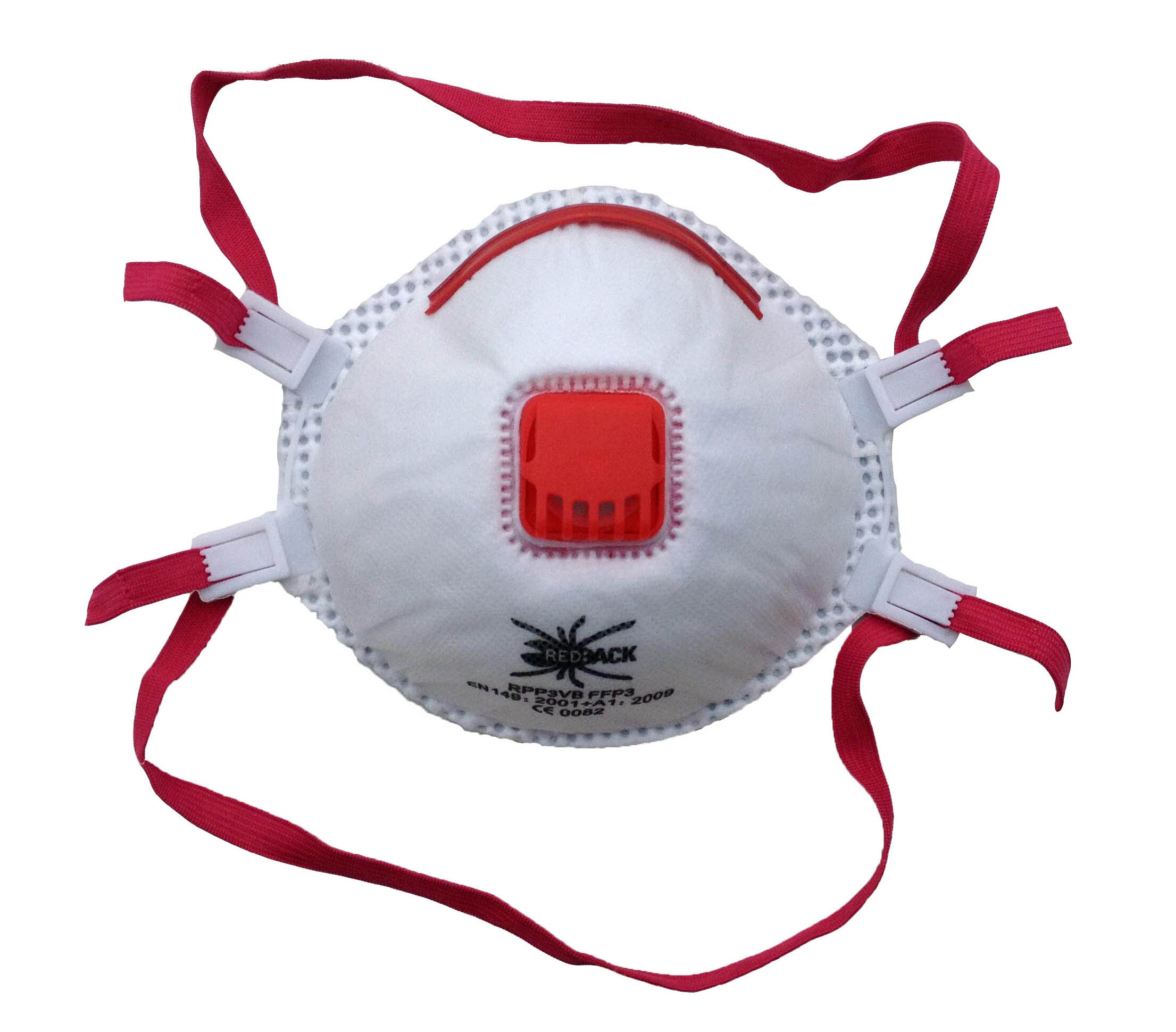 REDBACK Dust Mask with Valve FFP3 (Box of 5)